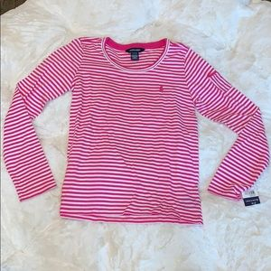 RALPH LAUREN GIRLS LONG SLEEVE